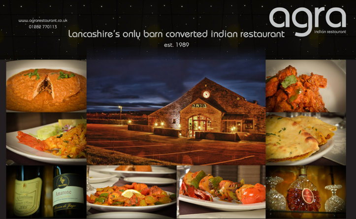 New promotional partnership agra indian restaurant in for Akash indian cuisine